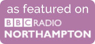 As featured on BBC Radio Northampton